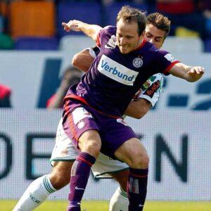 Zweifacher Derby-Torschütze der Austria, Tomas Jun. Foto: GEPA