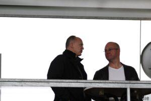 Georg Zellhofer (links) im Gespräch mit dem oepb. Foto: Johann Schornsteiner