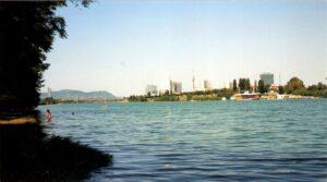 Es wird Tage dauern, ehe die Badequalität in und an der Neuen Donau wieder gegeben ist. Doch das derzeitige Wetter lässt an Bade-Freuden ohnehin nicht denken. Foto: oepb