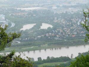 Blick auf die Neue Donau und den Schönungsteich in Strebersdorf. Foto: oepb