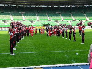 Das erstes Cheerleaderteam in Wien agieren die Red Wings des Teams Wiener Linien. Foto: oepb
