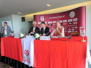 "V.l: Johannes Brandl, Gerhard Stocker, Georg Panl und ""Schneckerl"" Prohaska. Foto: oepb"