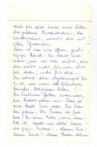 """Auszug aus dem """"Pariser Tagebuch"""" von 1950 . Foto: Österreichische Nationalbibliothek"""