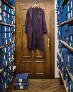 Morgenmantel von Heimito von Doderer. Foto: Österreichische Nationalbibliothek