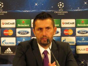 Austria-Trainer Nenad Bjelica sieht nach wie vor für sein Team gute Chancen in den kommenden Champions-League-Spielen. Foto: oepb