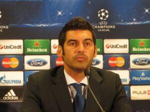 Wortgewandt und redefreudig präsentierte sich der FC Porto-Coach Paulo Fonseca nach Spielschluss den anwesenden Journalisten. Foto: oepb