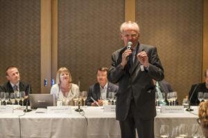 Ehrengast Dr. Günter Stummvoll, Abg. z. NR, Niederösterreichischer Weinbotschafter. Foto: ÖWM