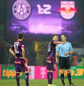 FUSSBALL - BL, A.Wien vs RBS