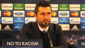Ein nachdenklicher Nenad Bjelica haderte nach dem Spiel weder mit dem Schiedsrichter noch mit der Niederlage, sondern analysierte offen und ohne jegliche Umschweife die Niederlage seines Teams. Foto: oepb