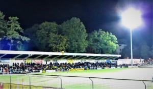Nach langer Zeit gab es gestern Abend endlich wieder einmal eine tolle Kulisse im Sepp Doll-Stadion zu Krems. Foto: oepb