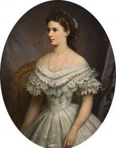 Porträt von Kaiserin Elisabeth (c)SKB