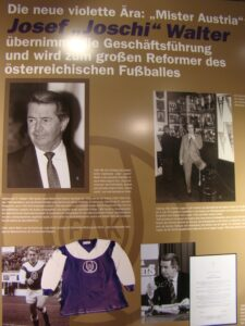 "Josef ""Joschi"" Walter-Ecke im FAK-Museum. Foto: oepb"