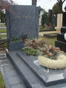 Letzte Ruhestätte auf dem Hietzinger Friedhof. Foto: oepb