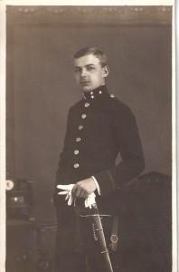 Offizier Günther von Stein, Jahrgang 1898, diente im 1., als auch im 2. Weltkrieg. Foto: Familienchronik Aglas / Dohnalek