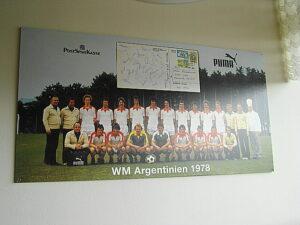 Die Erinnerung an die Fußball-WM von 1978 ist natürlich vorhanden. Foto: oepb