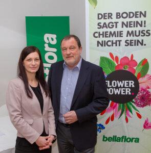 Jahres-Pressekonferenz von bellaflora und GLOBAL 2000 BELLAFLORA listet alle chemisch-synthetischen D¸ngemittel aus