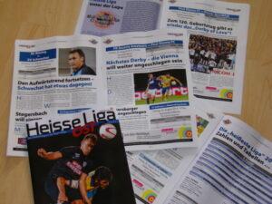 Aus dem Inhalt von Heisse Liga Ost 2014/15.
