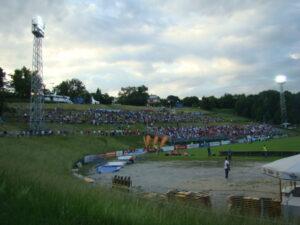Blick auf die wohl größte Natur-Arena Europas, die Hohe Warte. Foto: oepb