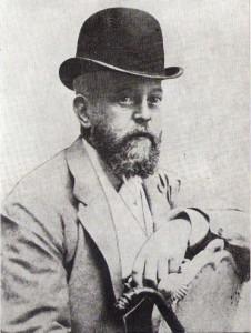 Nathaniel Mayer Anselm Freiherr von Rothschild gilt als Förderer und Ziehvater der Vienna. Foto: First Vienna FC
