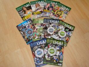 Cover-Streifzug durch die OSTLIGA Journal-Jahre: Foto: oepb