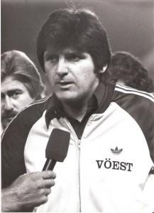 Trainer Ferdinand Milanovich im Gespräch