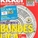 kicker SPORTMAGAZIN Bundesliga Sonderheft 2017_18_Olympia Verlag_Scan oepb.at