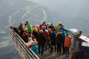 Aus luftiger Höhe am Dachstein - Gute Aussichten für die WOHNUNION. Foto: SERVICE&MORE