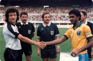ÖFB gg Brasilien 1988 Wien