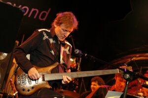 JackBruce & fretless bass 2006. Foto: Christian Sahm