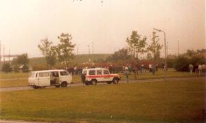 Der Verteilerkreis anno dazumal am 22. September 1991 nach Austria Wien gg. FC STAHL Linz (5 : 0). Foto: oepb