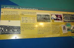 Die Geschichte des Stadions der 100.000 – Leipziger Zentralstadion – findet nun im Museum der Red Bull Arena Leipzig ihren Niederschlag. Foto: oepb.at