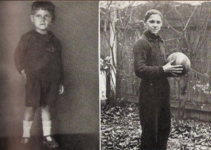 Ernst Ocwirk am Beginn seiner großen Laufbahn. Foto: privat
