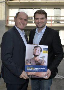LH-Stellvertreter Mag. Wolfgang Sobotka (links) mit Jugendvertreter Lukas Michlmayr. Foto: NLK Reinberger