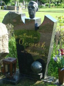 Das Ehepaar Ocwirk fand ihre letzte Ruhestätte am Wiener Zentralfriedhof. Foto: oepb.at