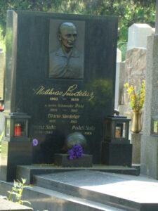 Matthias Sindelar fand seine letzte Ruhestätte am Wiener Zentralfriedhof. Alle Fotos: oepb