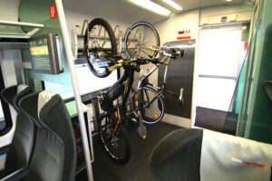 ... Radeln quasi mit gutem Beispiel voran. Das Rad fährt Bahn, auch in Zukunft. Foto: ÖBB