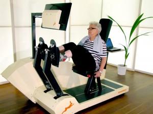 29 Menschen im Alter von 65 Jahren und älter nahmen acht Wochen lang an der Studie von Dr. Eling de Bruin von der Eidgenössischen Technischen Hochschule Zürich teil. Foto: Dynamic Devices