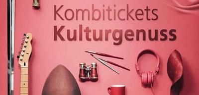 Plakat Kombiticket Kulturgenuss. Bild: ÖBB
