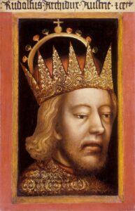 Portrait Herzog Rudolf IV. Foto: ÖNB