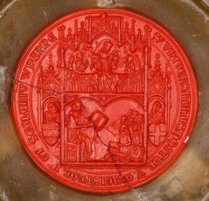 Siegel von einst. Foto: ÖNB