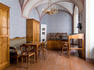 Originalgetreuer Nachbau Franz Grillparzer-Zimmer. Foto: ÖNB