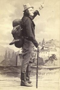 Johann Nestroy, der sich stets einen Jux machte ... Foto: ÖNB