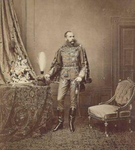 Kaiser Franz Joseph in Galauniform. Foto: NEUMEISTER Auktionen