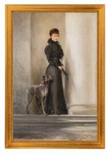 Elisabeth mit Dogge. Foto: Alexander Eugen Koller