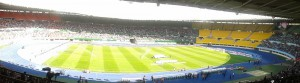 Panarama-Stimmung gestern Nachmittag im Wiener Prater Stadion.  Foto: oepb.at