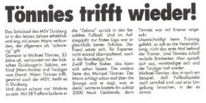 Faksimile VfL Bochum express Nr. 16 1991/92 vom 3. April 1992.