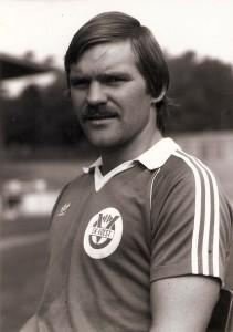 Gerald Haider im August 1981, Linzer Stadion.   Foto: Sammlung oepb