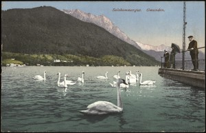 Gmunden im Salzkammergut (1918).