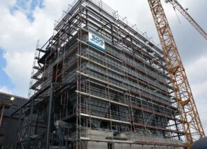 Blick auf die Stahlwerksentstaubungsanlage SEKU 3.1. Foto: SGS/Mario Preinsberger