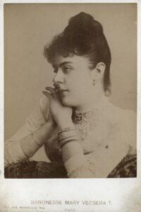 Baronesse Mary Vetsera, 1888. Foto: ÖNB